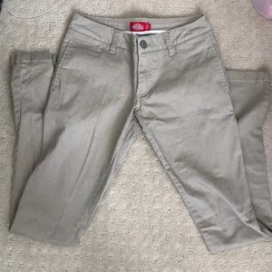 DICKIES STRAIGHT LEG STRETCH PANTS